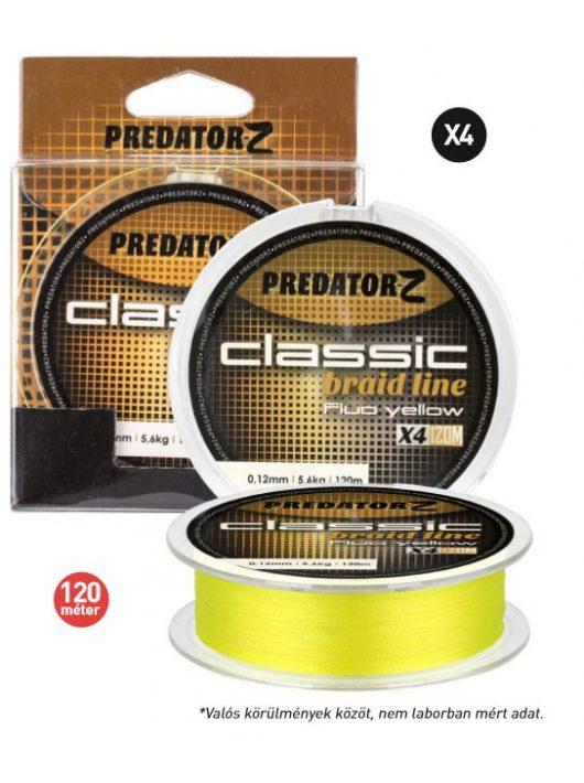 Carp Zoom Classic Braid Line 120m, sárga