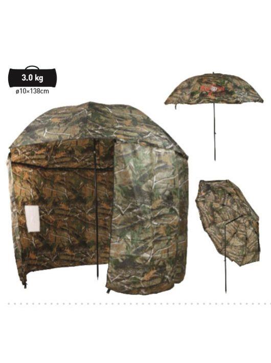 Carp Zoom Terepszínű sátras horgászernyő 250 cm