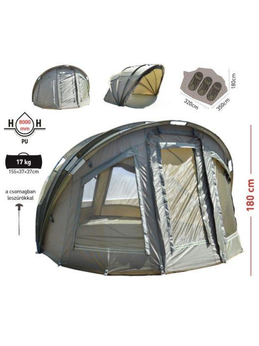 Carp Zoom Adventure 3+1 Bivvy sátor 320x350x180 cm