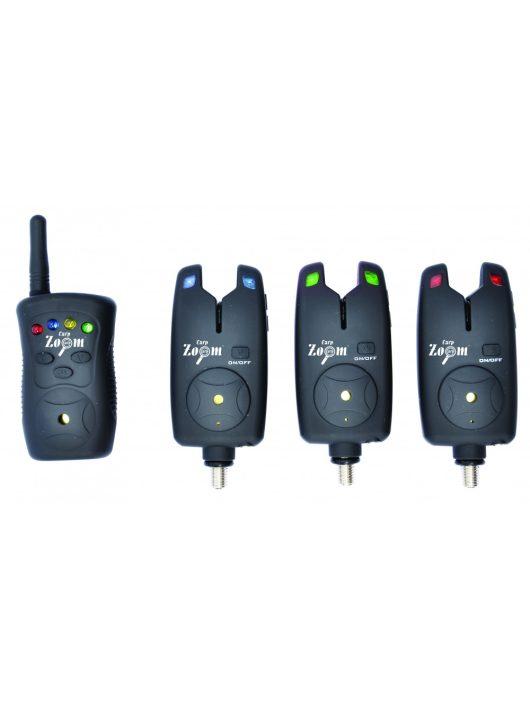 Carp Zoom V-Sat K-470 elektromos kapásjelző szett 3+1