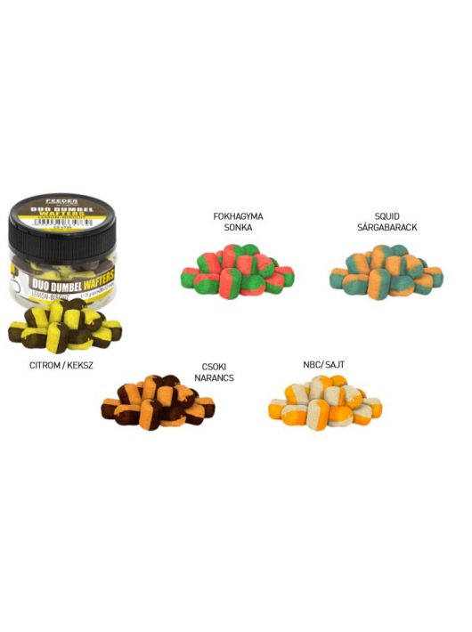 Carp Zoom Feeder Competition Duo Dumbel Wafters 12 mm, 15 g